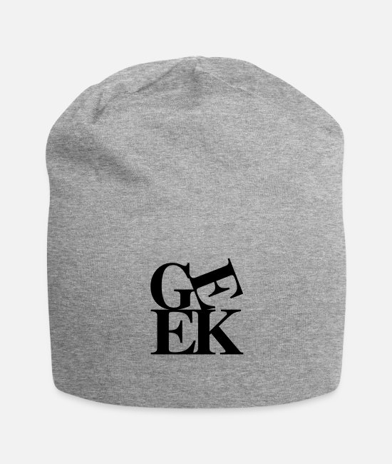 Geek Caps & Hats - Geek - Beanie heather grey