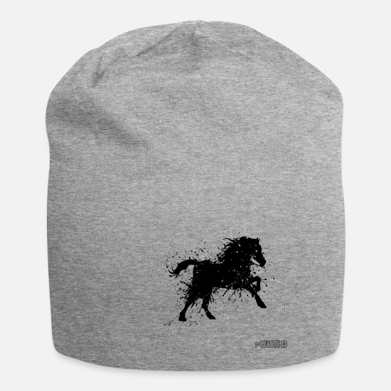 Horse Caps & Hats - Fury - Beanie heather grey