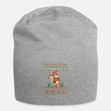 Christmas Christmas Funny Squirrel Xmas Holiday Gift - Beanie