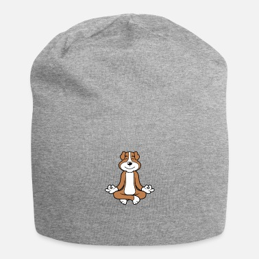 Male Puppy Dog Puppy Yoga meditation dog puppy dog - Beanie