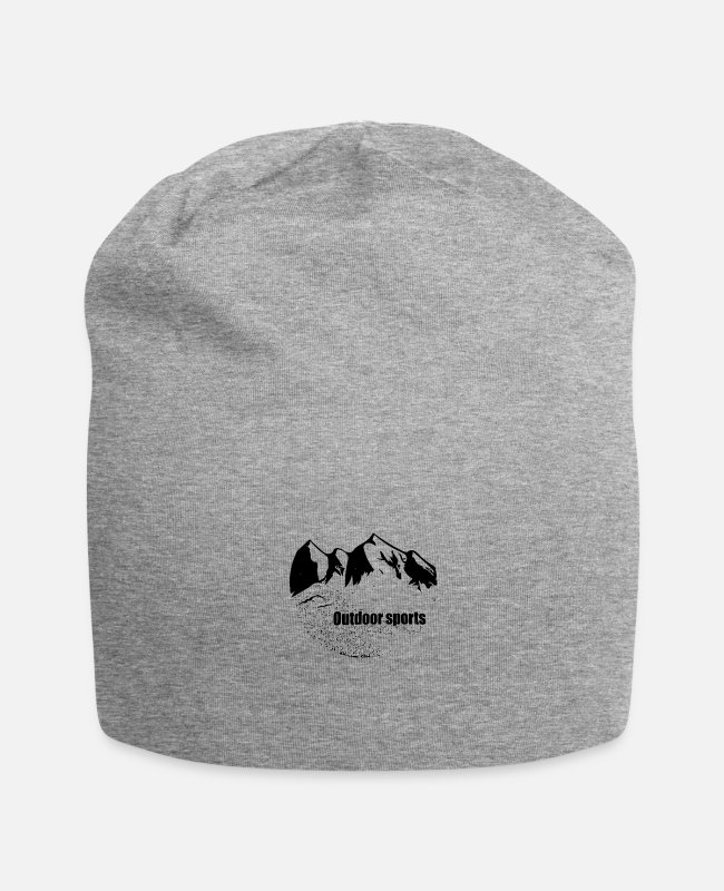 Mountains Caps & Hats - Outdoor sports - Beanie heather grey