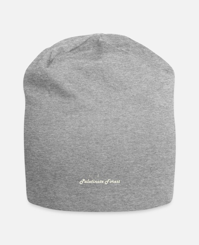 ° #mosel Caps & Hats - Palatinate Forest mountain view - Beanie heather grey