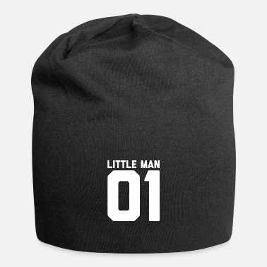 Big Little man big man Vater Sohn Design - Beanie