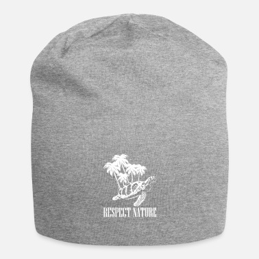 Living Being Turtle - respect nature - nature - Beanie