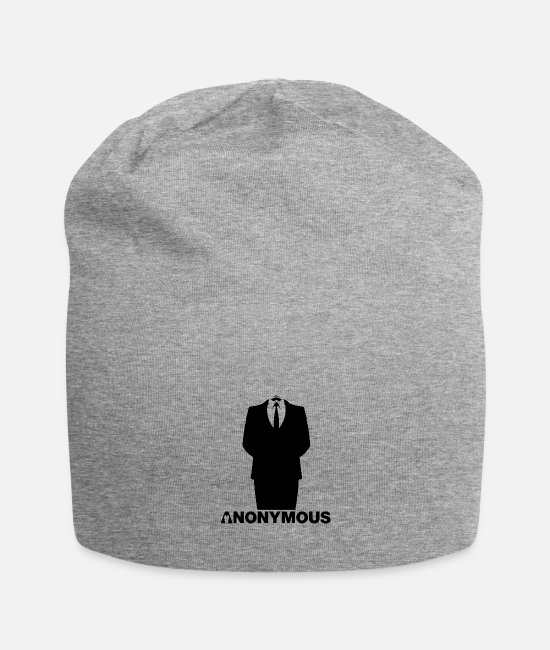 Obey Caps & Hats - Anonymous - We Are Legion - Suite Shirt - Beanie heather grey