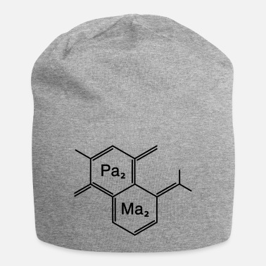 Family Junior Daughter Mom Father chemical papa + mama - Beanie