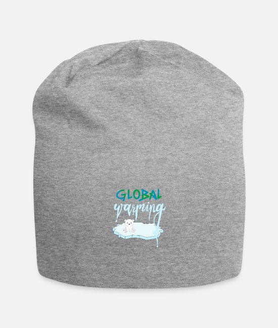 Melt Caps & Hats - Global warming - Beanie heather grey