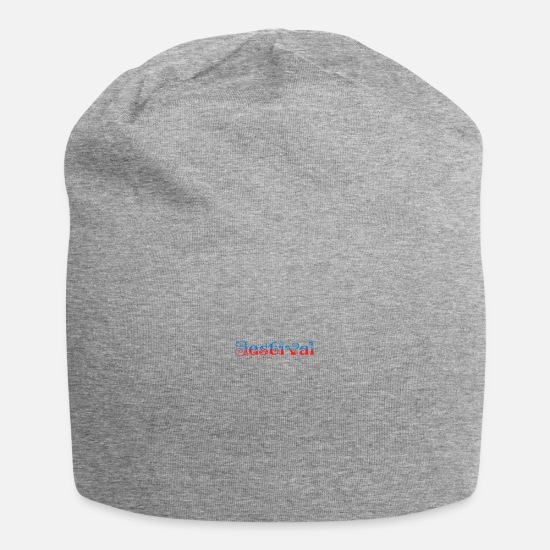 Atmosphere Caps & Hats - Festival Shirt · The Festival · Gift - Beanie heather grey