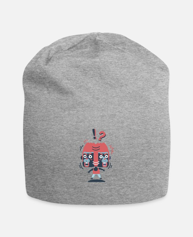 Unusual Caps & Hats - FLAMINGO - Beanie heather grey