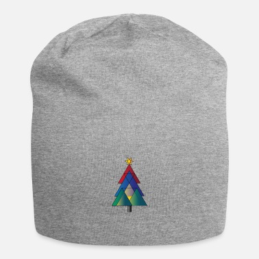 CHRISTMAS TREE | colorful - Beanie