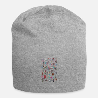 Quadrat pop surrealism - Beanie