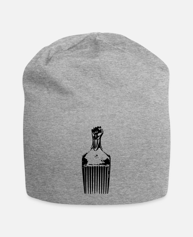 Urban Caps & Hats - Afro Pick - Beanie heather grey