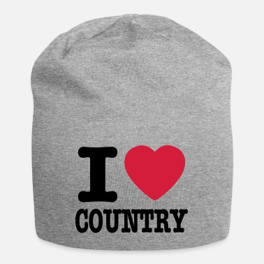 Country i love country / i heart country - Beanie