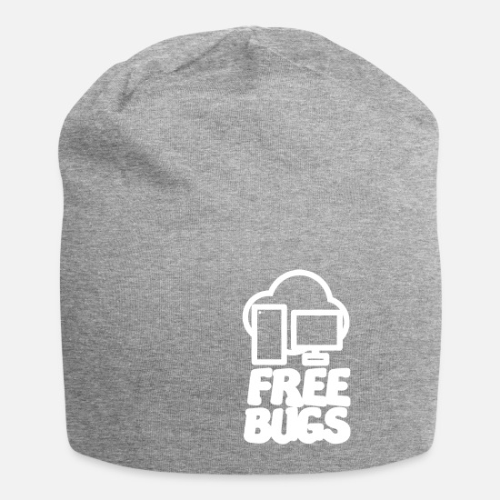Computer Caps & Hats - computer - Beanie heather grey