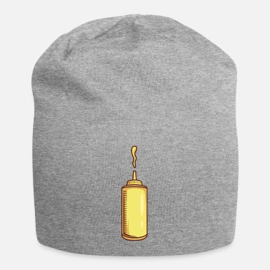 Heat Mustard Dispenser With Mustard - Beanie