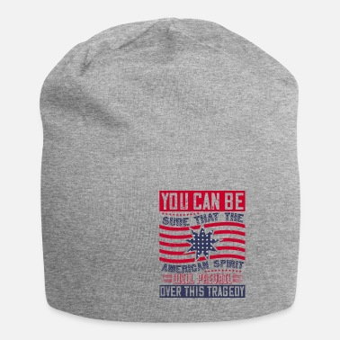 Police Patriot Day American Spirit wants prevail - Beanie
