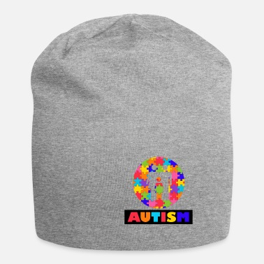 Autism Month Vintage Autism Autism Awareness Month - Beanie