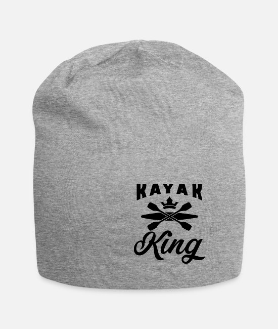 Water Caps & Hats - Kayak King Shirt b-day - Beanie heather grey