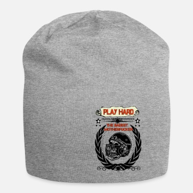 Football Skull Go Hard - Beanie