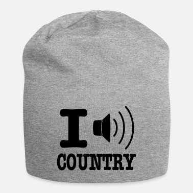 Country I music country / I love country - Beanie