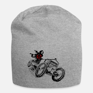 Motor Race Race car, car, motocross, motor sports, skull, - Beanie