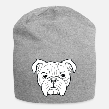 Dog Bulldog head - gift for dog owners - Beanie