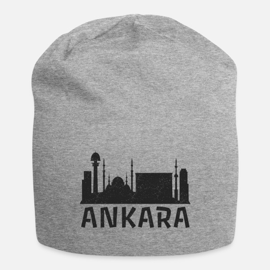 Mosque Caps & Hats - Ankara - Design - Beanie heather grey