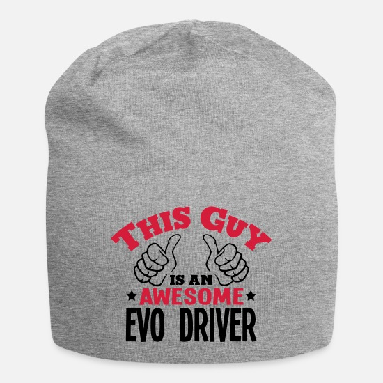Race Car Caps & Hats - this guy is an awesome evo driver 2col - Beanie heather grey