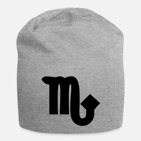 Scorpio Caps & Hats - scorpio - Beanie heather grey