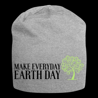 Earth day 2 - Beanie in jersey