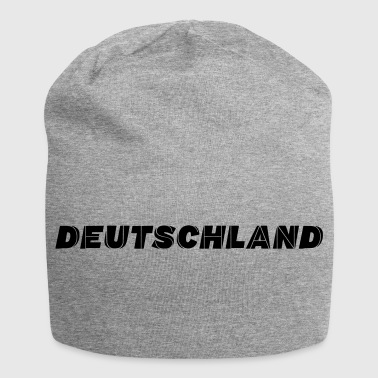 lettering GERMANIA - Beanie in jersey