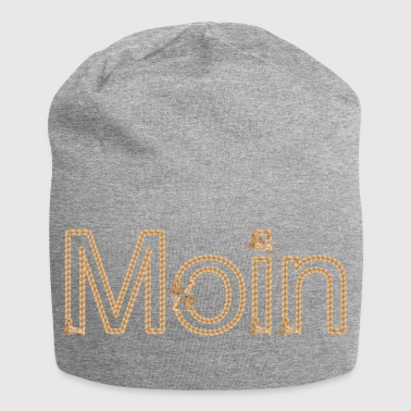 Moin ropes maritim north germany gift - Jersey Beanie