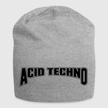 Acid Techno - Bonnet en jersey