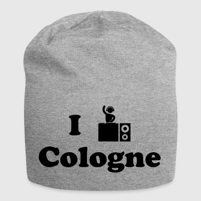 cologne dj - Jersey-Beanie
