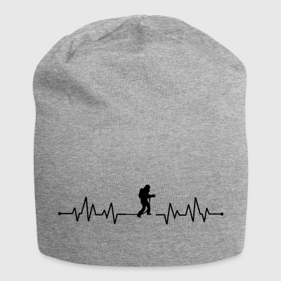 Heartbeat Firefighter - Jersey Beanie