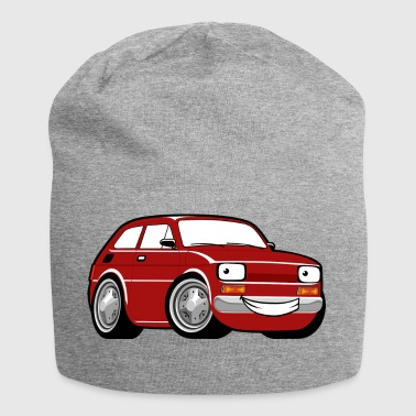 Red cartoon racing car toddler classic - Jersey Beanie