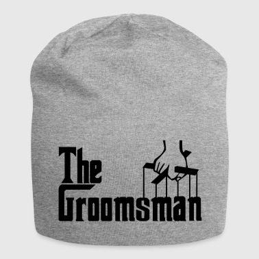 The Groomsman. The Best Man. Gifts for Stag Party - Jersey Beanie