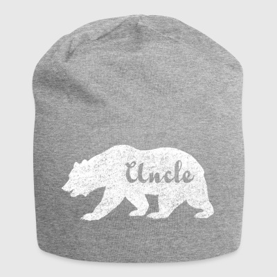 Uncle Bear. Gifts for uncles. Camping. Wildlife. - Jersey Beanie