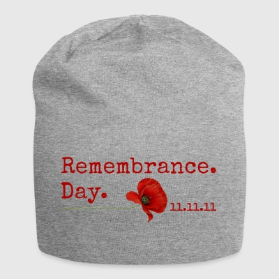 Mindedag. 11.11.11. Red Poppy Gifts - Jersey-Beanie