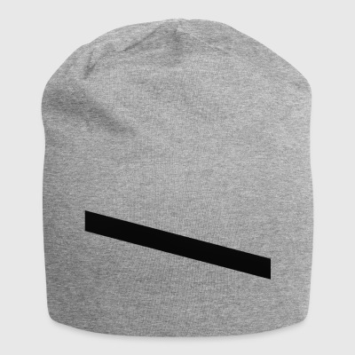 striber sort - Jersey-Beanie