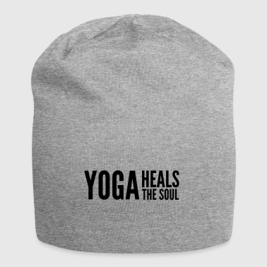 yoga quote - Jersey Beanie