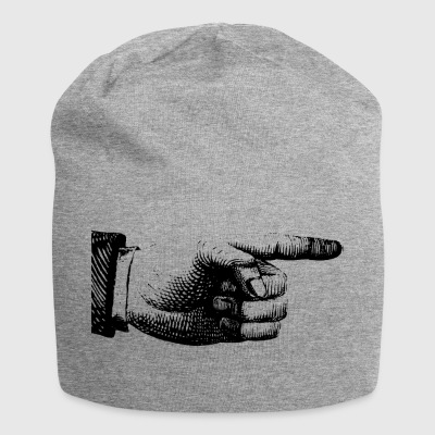 Finger pointing - Jersey Beanie