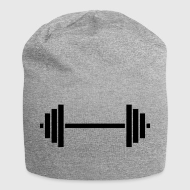 dumbbell - Jersey-beanie