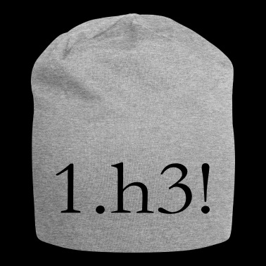 Scacchi 1.h3 - Beanie in jersey