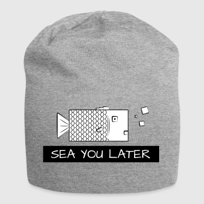 Sea you later Fisch - Jersey-Beanie