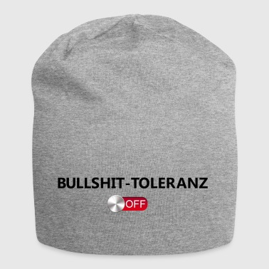 Bullshit tolerance off - Jersey Beanie