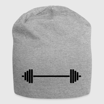 barbell - Jersey Beanie