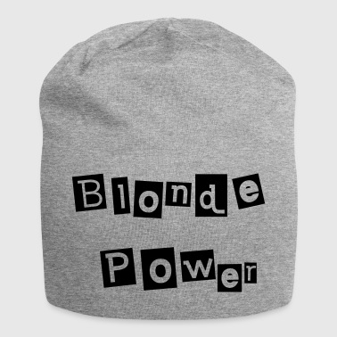 blonde Power - Jersey-Beanie