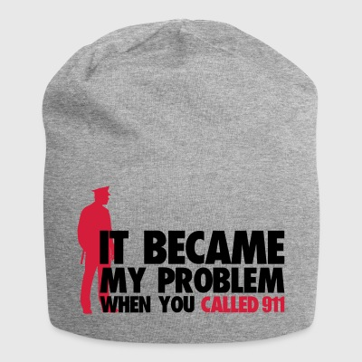 Became problem when you call police cops - Jersey Beanie