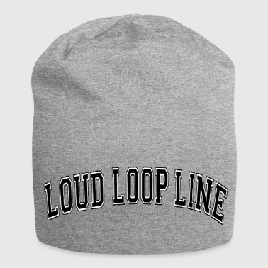 Loud Loop Line collage - Jersey Beanie